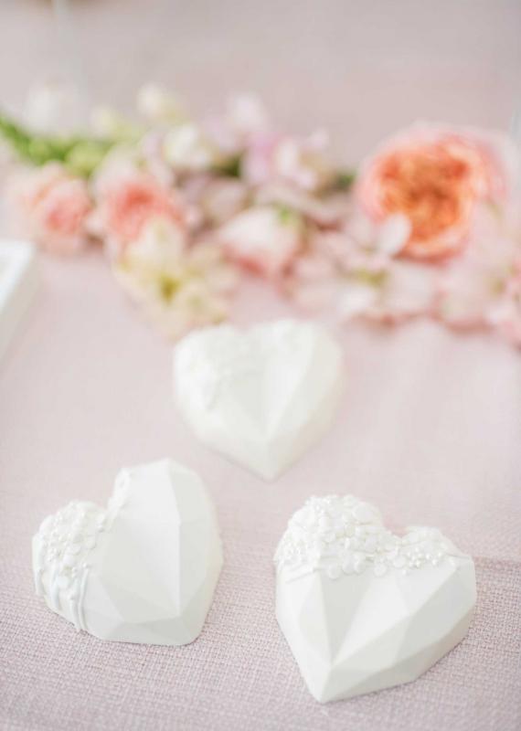 Purity Cake Hearts