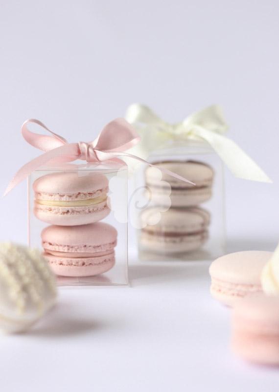 Macaron double boxes