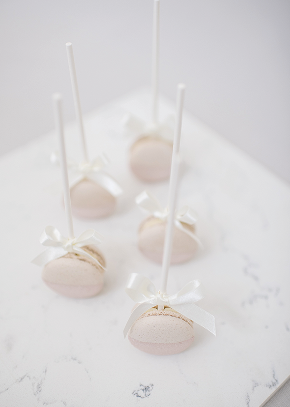 Lollipops Macarons